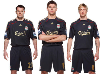 Carragher, Gerrard and Torres